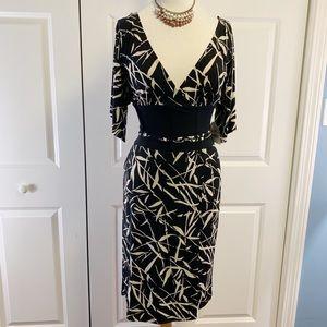 Bisou Bisou Black Design Dress